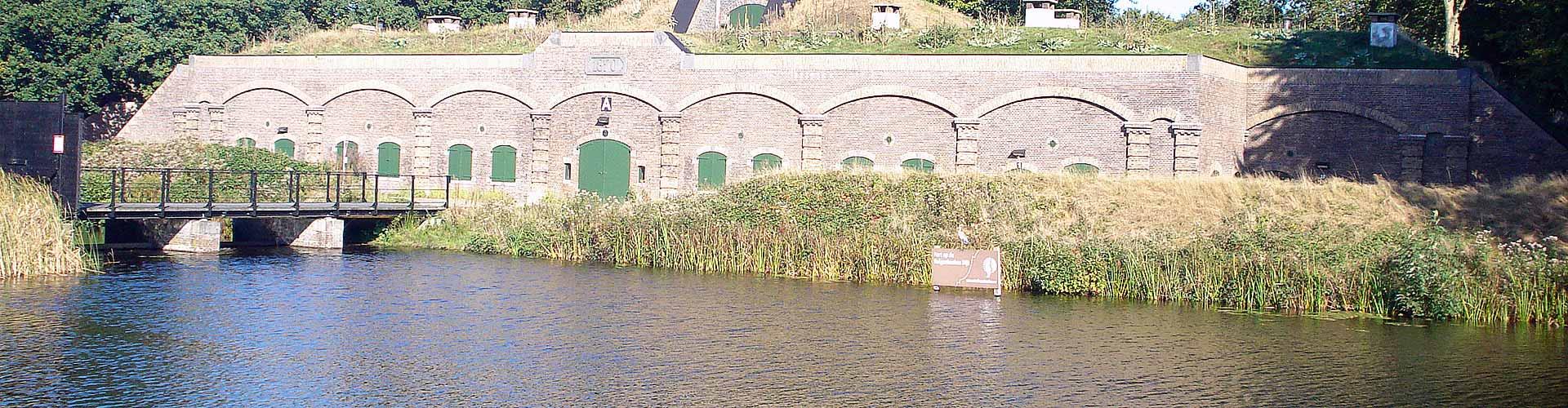 Vissen in Fort Ruigenhoek