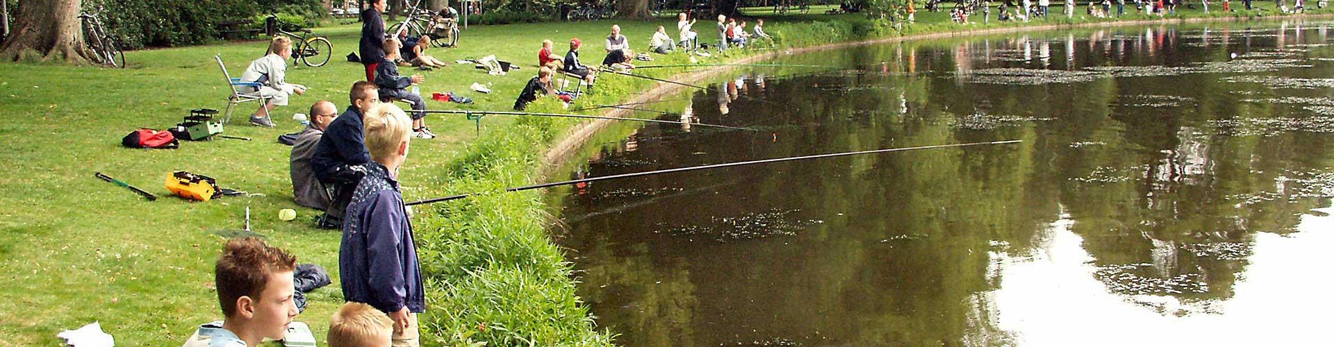 jeugd-viswedstrijd bij hst Maarssen